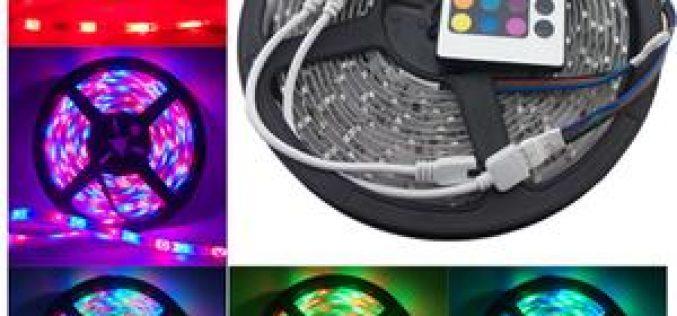 Lampu Hias Taman RGB