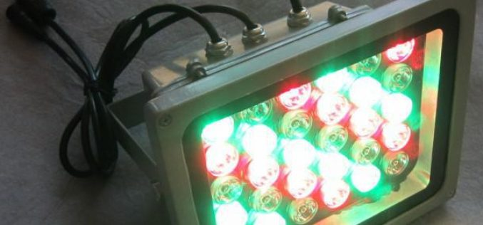 Lampu Sorot RGB Dengan DMX Controller Area Jakarta Dan Surabaya