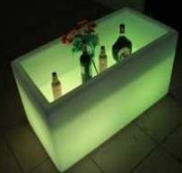 Lampu Hias LED Pot bunga ES-F10251 Ø102x51xH51cm