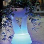 Lampu Hias LED Pot bunga ES-F3059 Ø30xH59cm