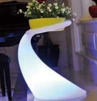 Lampu Hias LED Pot bunga ES-F3662 Ø36x54xH62cm