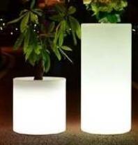 Lampu Hias LED Pot bunga ES-F38115 Ø38x38xH115cm