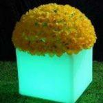 Lampu Hias LED Pot bunga ES-F4041 Ø40x40xH41cm