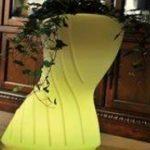 Lampu Hias LED Pot bunga ES-F4183 Ø41xH83cm