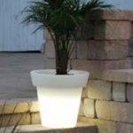 Lampu Hias LED Pot bunga ES-F6066 Ø60x60xH66cm