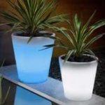 Lampu Hias LED Pot bunga ES-FC2829 Ø28xH29cm