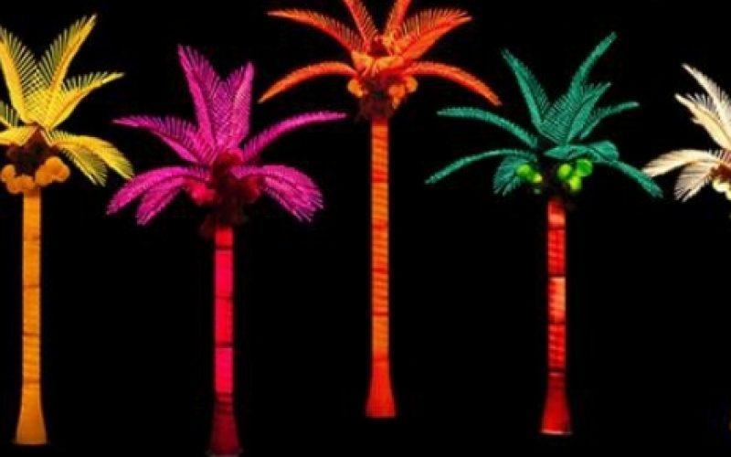 Produk Lampu Hias Pohon Kelapa