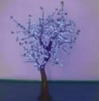 LED Simulation Tree DY-GFZCH-10T(YZ)-2M-BL
