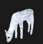 Lampu Lampion Akrilik Motif Rusa 3D DY(2016)-3D039 H66cm x L100cm