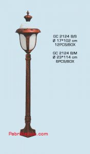 Jual Lampu Hias Taman Model Tunggal GC 2124 B/S