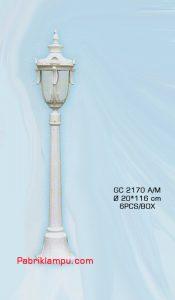 Harga lampu taman bulat GC 2170 A/M