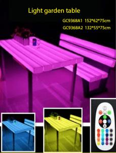 Harga meja dan kursi led di surabaya