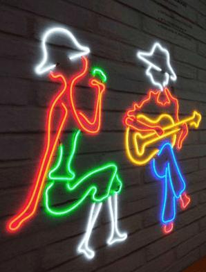 Jasa ilustrasi led untuk tanda