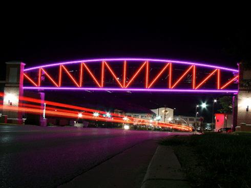 Jasa pembuatan lampu hias jembatan gantung termurah di surabaya
