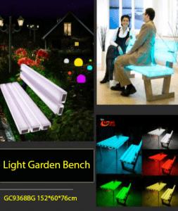 Jual Bangku Taman LED Murah