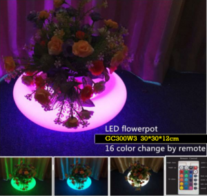 Jual LED Pot Bunga Untuk Cafe dan restoran GC300W3
