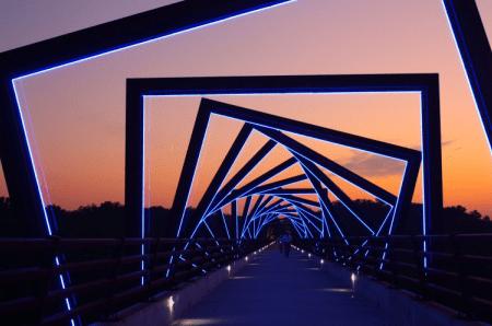 Jual lampu led flexibel untuk jembatan