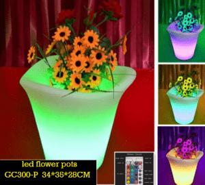 LED Pot Bunga Untuk Restoran Outdoor GC300-P