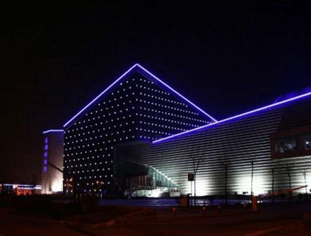Lampu hias gedung termurah di surabaya