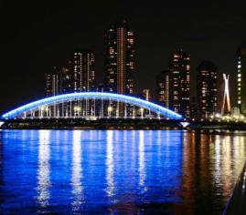 Lampu led jembatan gantung murah