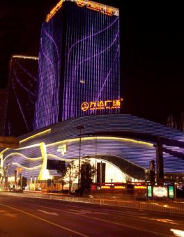 Lampu neon flexible untuk gedung