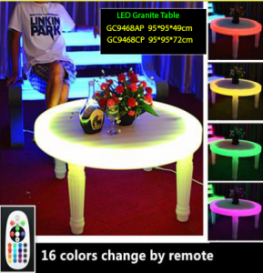 Meja granite dengan LED Harga terjangkau