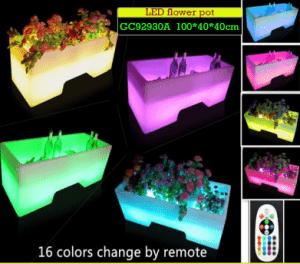 Pot Bunga LED Untuk Dekorasi Rumah GC92930A