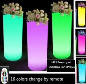 Pot Bunga LED Untuk Outdoor Murah GC300G1