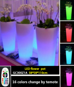 Pot Bunga Led untuk rumah anda GC300Z1A
