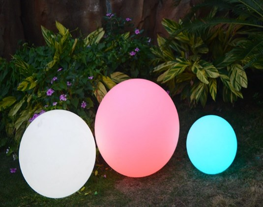 Harga Lampu Bola Taman Led dengan Baterai dan Remot Control