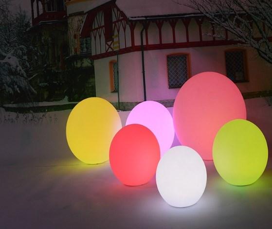 Jual Lampu Bola RGB Warna Warni Dengan Remot