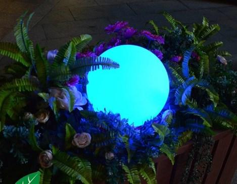 Jual lampu Bola Led Murah RGB kontrol dengan remot ES-B040