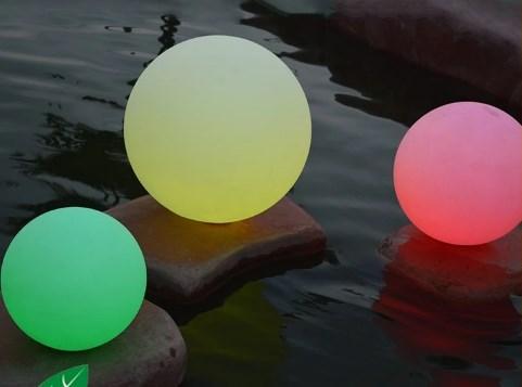 Jual lampu bola warna warni murah dengan remot kontrol