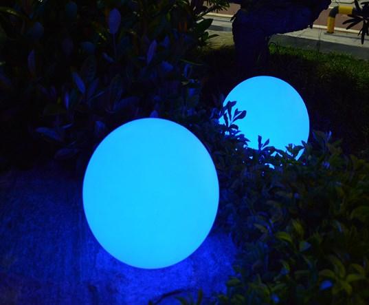 Lampu Taman Murah Model Bola Waterproof