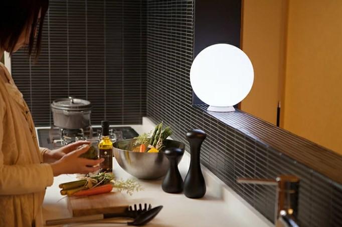 Lampu BOla ruang Keluarga
